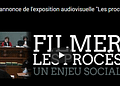 Paris; «Filmer les procès, un enjeu social» l'exposition en cours