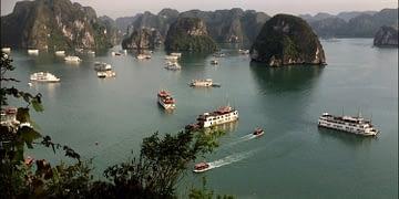 Hanoï and Halong Bay in Vietnam